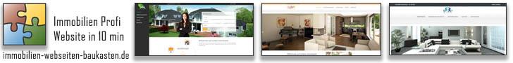 Immobilien Webseiten Baukasten